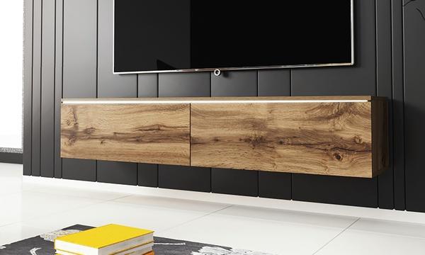 selsey living tv schrank kane in der farbe und grosse nach wahl optional mit led beleuchtung