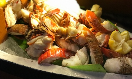 Seafood Buffet with Drinks for Up to Six at Oceana at 5* Hilton Jumeirah Hotel (Up to 48% Off)