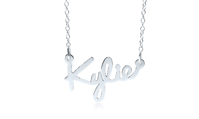 Up To 92% Off on Personalized Script Name Pendant