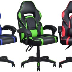 Desk Chair Groupon Covers Royal Blue Up To 61 Off On High Back Gaming Office Goods