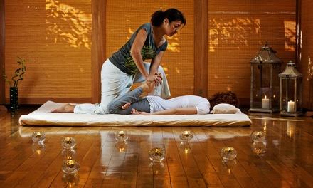 90Min Thai Massage Pamper Package  Kinnaris Thai