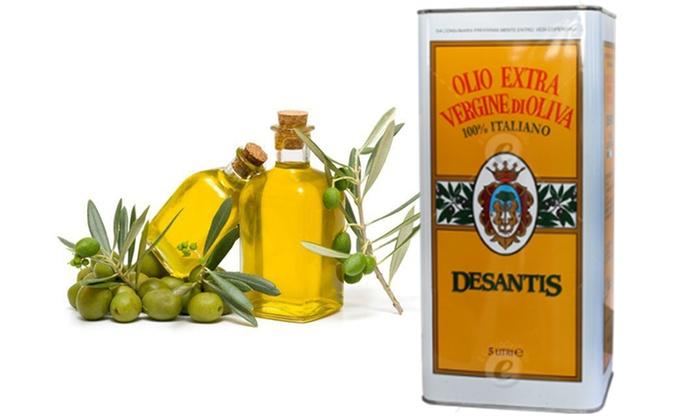 5 L di Olio Extravergine di oliva  Groupon Goods