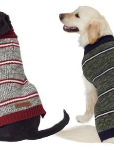 also up to off on eddie bauer striped dog sweater groupon goods rh