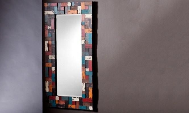 Mirrotek Four Piece Wave Mirror Set 89 For A