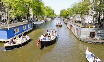Sloepdelen: 4 uur varen door Amsterdam, Utrecht, Haarlem of Leiden met max. 12 personen
