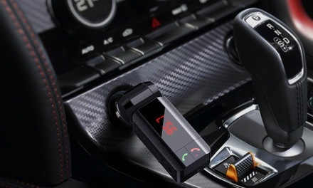Kit vivavoce 4 in 1 con Bluetooth da auto