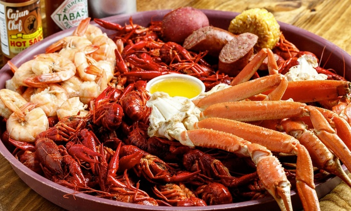 Authentic Cajun Cuisine  The Crawfish Joint  Groupon