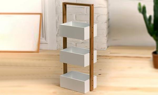 etagere en bambou 3 boites