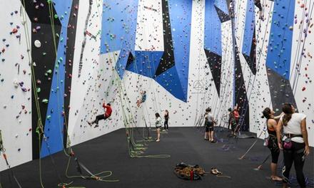Indoor Rock Climbing for Two  North Walls Indoor Climbing