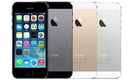 iPhone 5S fino a 64GB ricondizionato Superior in 3 colori con garanzia di 2 anni del rivenditore e spedizione gratuita
