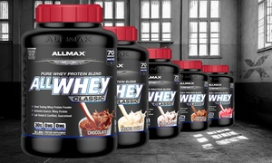 image for 5lb. Tub of ALLMAX ALLWHEY Classic 100% Pure Whey-Protein