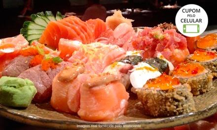 Restaurante Tottori – Barueri: rodízio japonês com sobremesa para 1 ou 2 pessoas