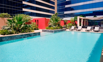 Pool, Health Club and Spa Access with Optional Food Credit Up to AED 400 for Up to Four at The Pool at The H Dubai