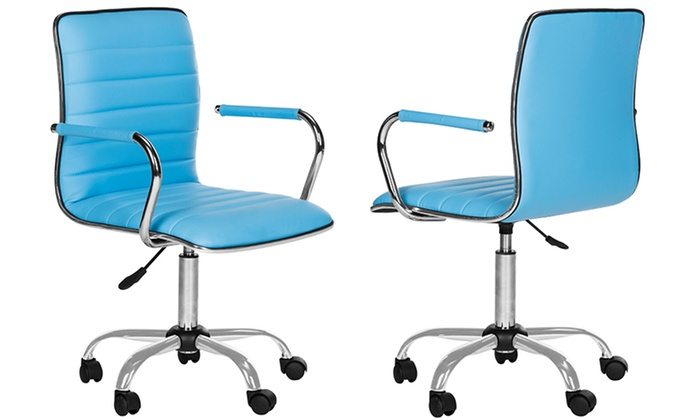 desk chair groupon oval back side up to 20 off on safavieh blue jonika goods
