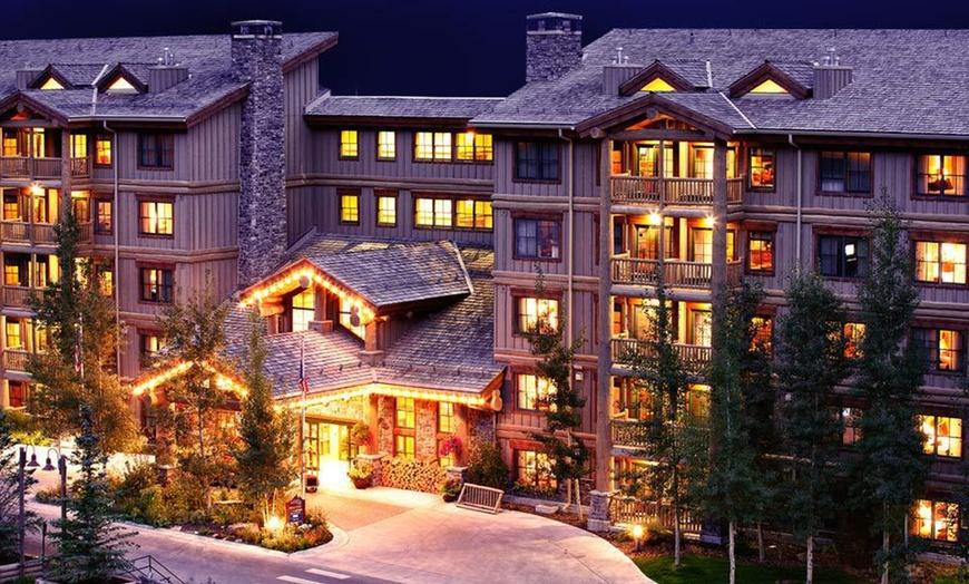 The sprawling teton springs lodge & Teton Mountain Lodge And Spa Groupon