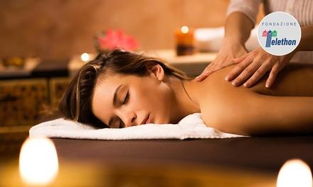 Massaggio da 60 minuti a scelta al centro Estetica La Perla Bianca in centro a Mestre (sconto 50%)