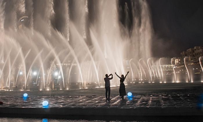 Dubai Fountain Boardwalk Tickets  The Dubai Fountain