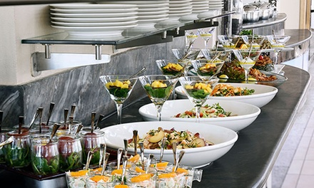 Lunch or Dinner Buffet with Soft Beverages at Selections at 5* InterContinental Abu Dhabi (Up to 45% Off)
