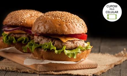 Hambúrguer e fritas para 1 ou 2 pessoas no Justíssimo Burger & Bar – Planalto Paulista