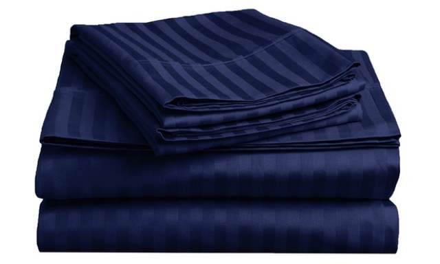 From $39 for a 1800TC Striped Embossed Ultra Soft Microfibre Sheet Set
