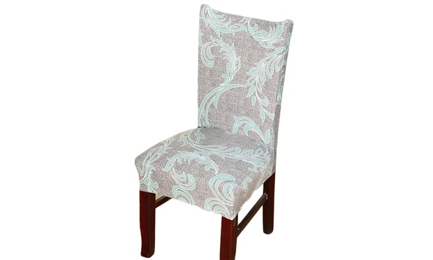 chair slipcovers nz posture corrector for work stretch dining slipcover | groupon