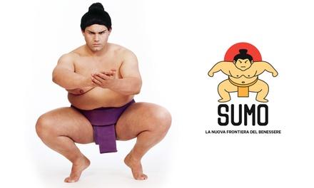Decontratturante, rilassante ed energico. Massaggio con lottatore di Sumo: la nuova frontiera del benessere!