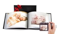 Custom Leather Cover Photo Books from Printerpix