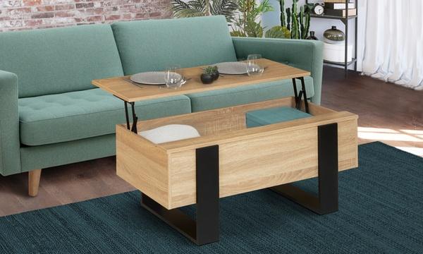 table basse relevable luxton livraison offerte