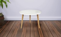 Mid Century Modern Accent Table   Groupon Goods