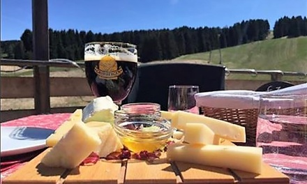 Menu del territorio con antipasto, primo, secondo, dolce e vino alla Terrazza Casa Rossa Asiago (sconto fino a 70%)