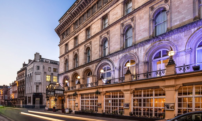 Spa Access And Tea For Two Mercure Bristol Grand Hotel