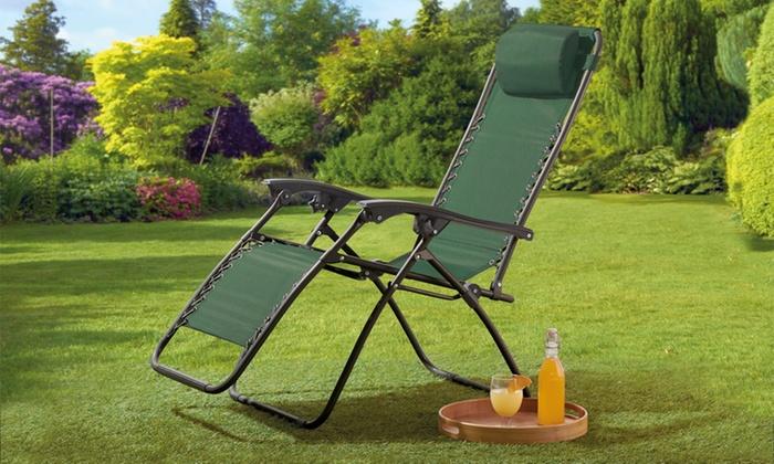 zero g garden chair big comfy chairs gravity groupon