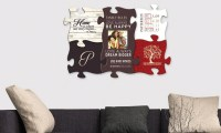 Custom Puzzle Piece Wall Art from Monogram Online | Groupon