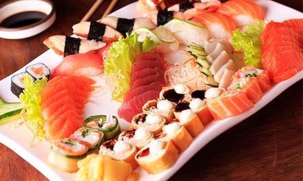 Rodízio de comida japonesa e sobremesa para 1, 2 ou 4 pessoas no Anália Franco Sushi Lounge