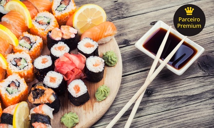 Rodízio japonês e sobremesa para 1 ou 2 pessoas no Hiroki – Consolação