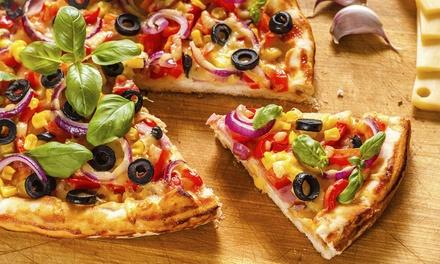 Menu pizza e vino in centro storico per 2 o 4 persone da Ristorante Pizzeria di Porta Saragozza (sconto fino a 55%)