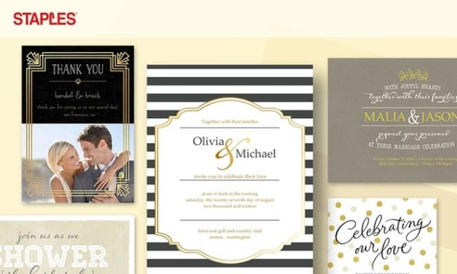 Jam Paper Wedding Invitation Set Large 5 X 7 75 White With Pink
