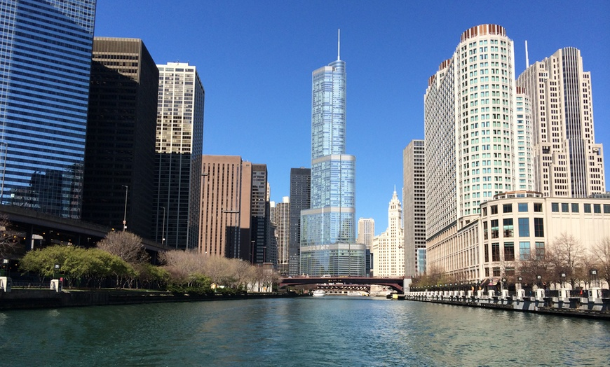 Chicago Architectural Boat Tour Chicago Line Cruises Groupon