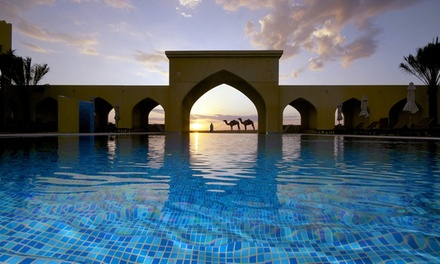 Abu Dhabi: 1 Night for 2 Adults and 2 Children with Breakfast, Leisure and Choice of Perks at 4* Tilal Liwa Hotel