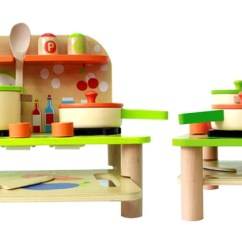 Wood Kitchen Playsets Lowes Remodel Up To 67 Off Wooden Toy Set Groupon