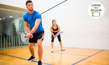 1 ou 2 horas de locação de quadra de squash no Squash Tennis Center – Boa Viagem