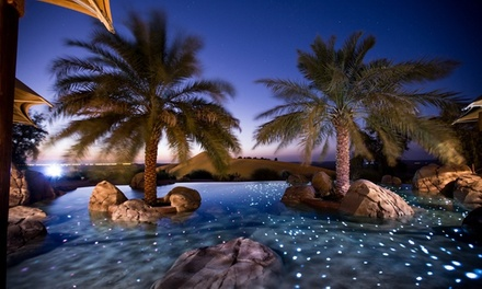 Al Ain:1 Night Desert Package for Two with Breakfast and Activities at 5* Telal Resort