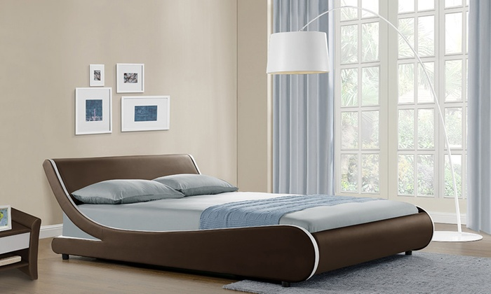 Galactic Curved Bed Frame Groupon Goods
