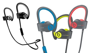 image for Beats by Dre Powerbeats 2 or 3 Headphones (Refurbished A-Grade)
