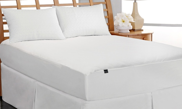 Clearance Elle Coral Fleece Waterproof Mattress Pad  Groupon