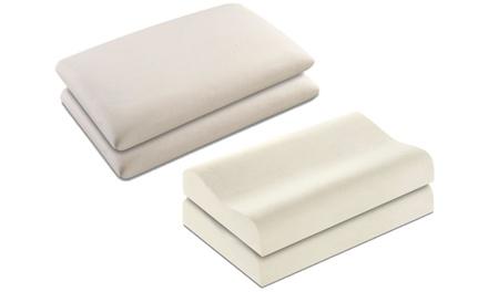 2 cuscini in Memory Foam Bladiflexdisponibili in 2 modelli