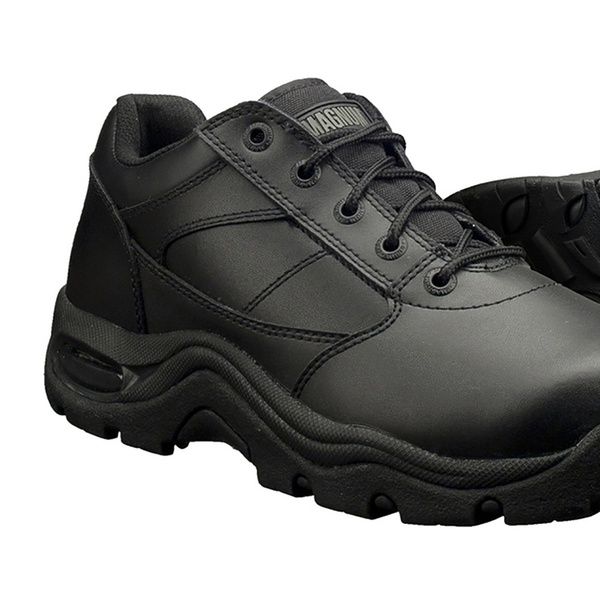 Leather Slip Resistant Work Shoes