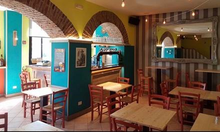 Menu BBQ con antipasto, piatto combo e birra per 2 o 4 persone al Centoundici Circus a Castellanza (sconto fino a 56%)