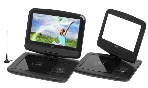 lecteur dvd portable tnt hd integre ecran 9 affichage led usb hdmi sd integre