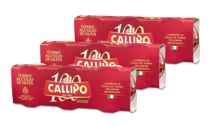 Tonno allolio di oliva Callipo  Groupon Goods